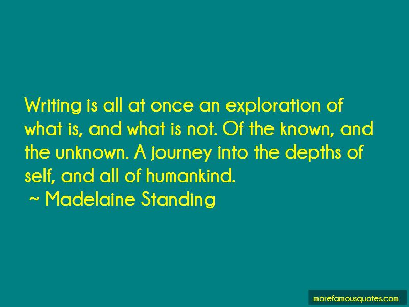 Madelaine Standing Quotes Pictures 2