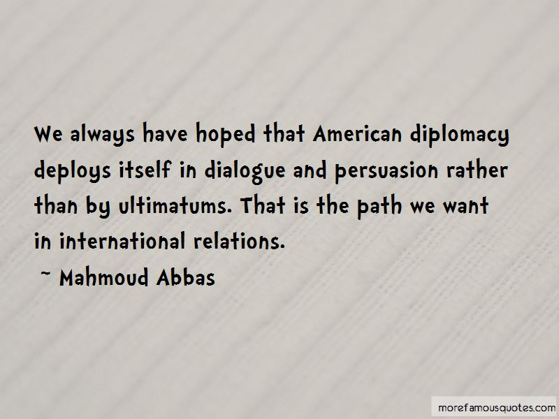 Mahmoud Abbas Quotes Pictures 2
