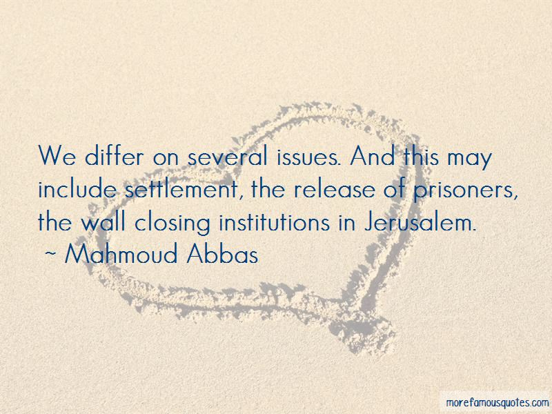 Mahmoud Abbas Quotes Pictures 3