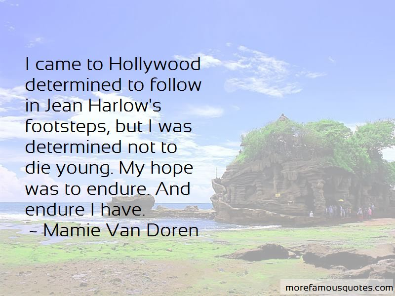 Mamie Van Doren Quotes Pictures 2