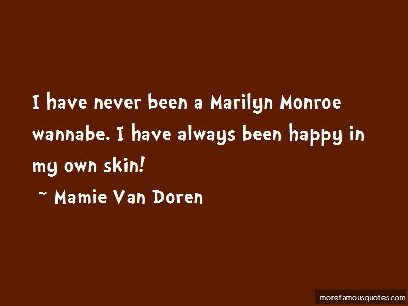 Mamie Van Doren Quotes Pictures 4