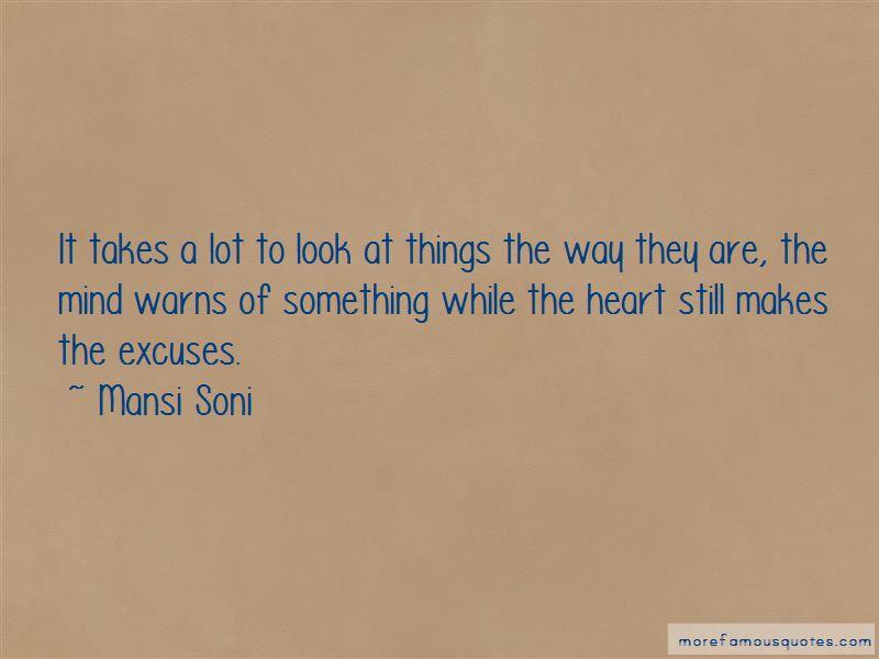Mansi Soni Quotes