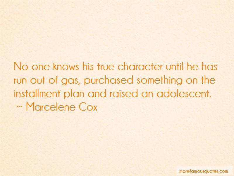 Marcelene Cox Quotes Pictures 2