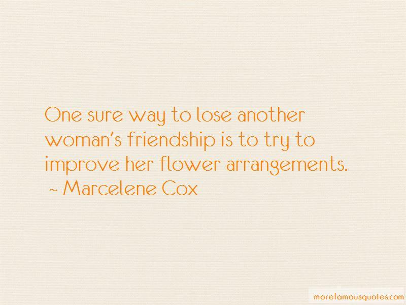 Marcelene Cox Quotes Pictures 3