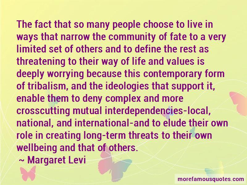 Margaret Levi Quotes