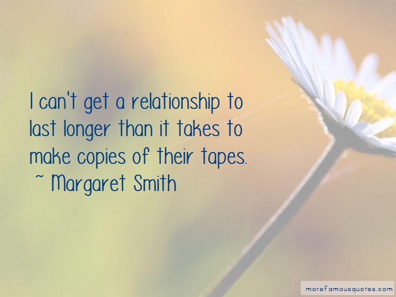 Margaret Smith Quotes