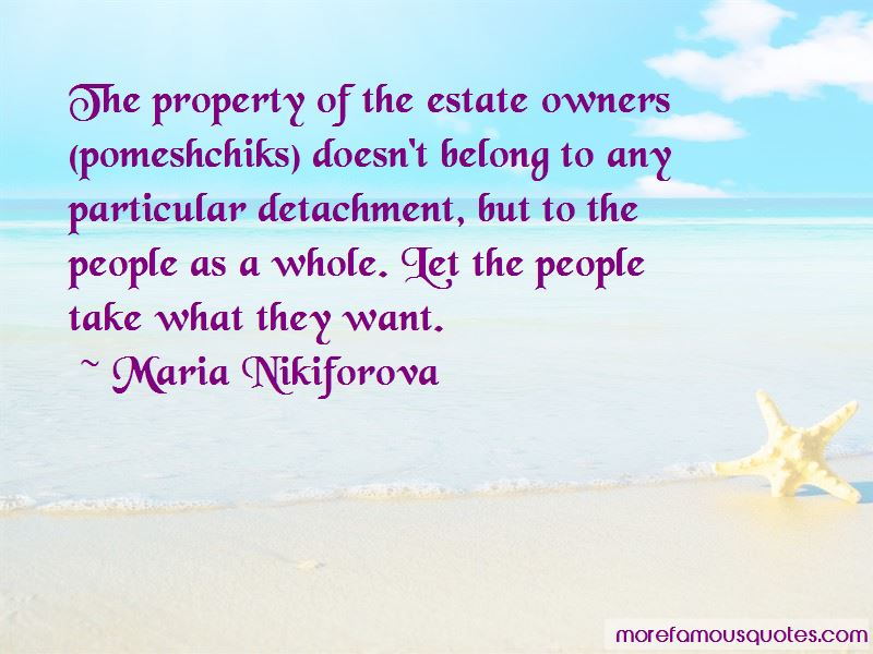 Maria Nikiforova Quotes
