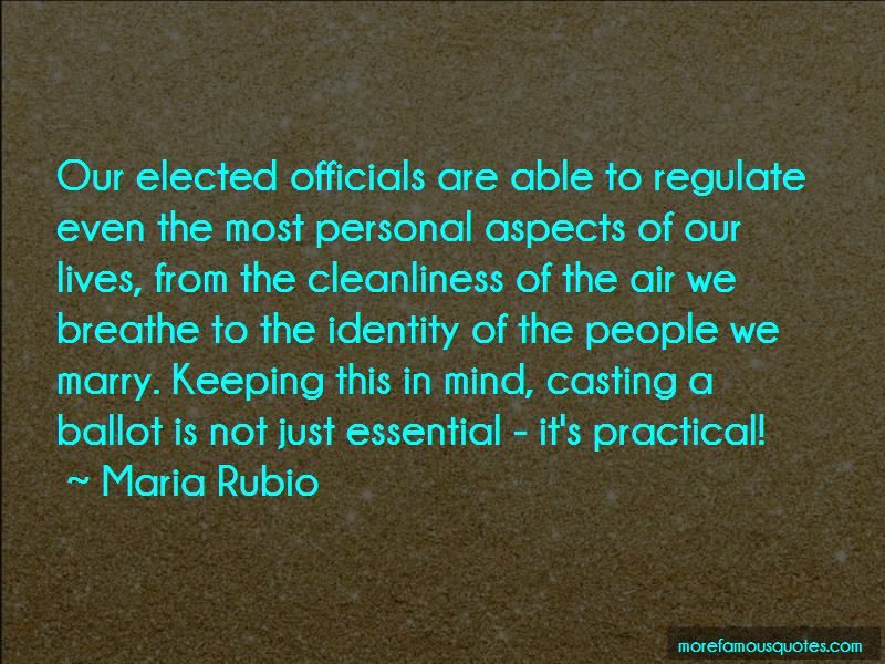Maria Rubio Quotes