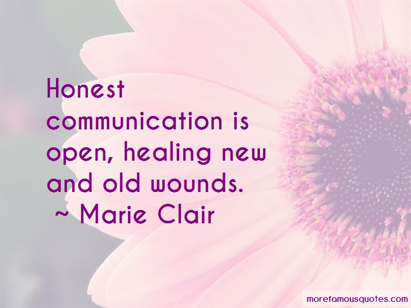 Marie Clair Quotes Pictures 2