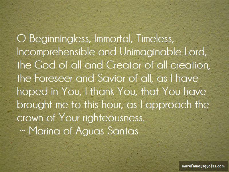 Marina Of Aguas Santas Quotes