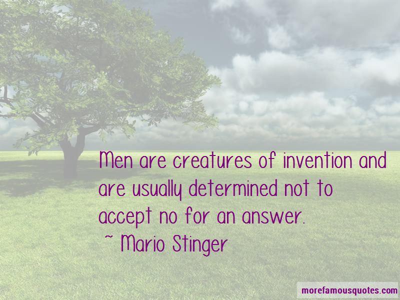 Mario Stinger Quotes Pictures 2