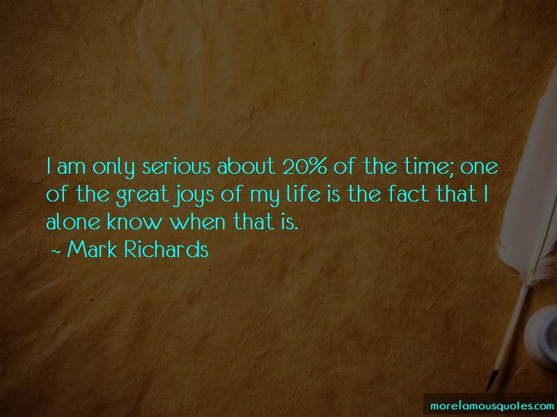 Mark Richards Quotes Pictures 2