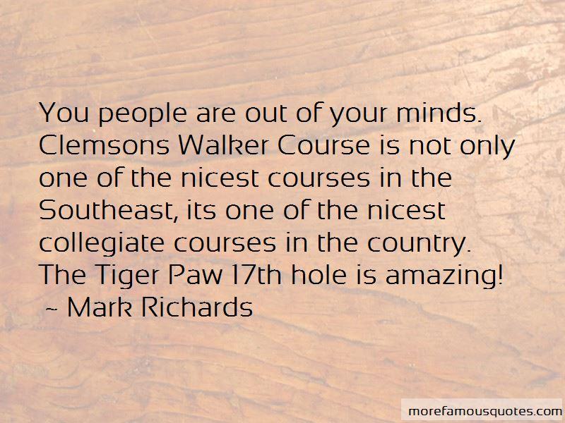 Mark Richards Quotes