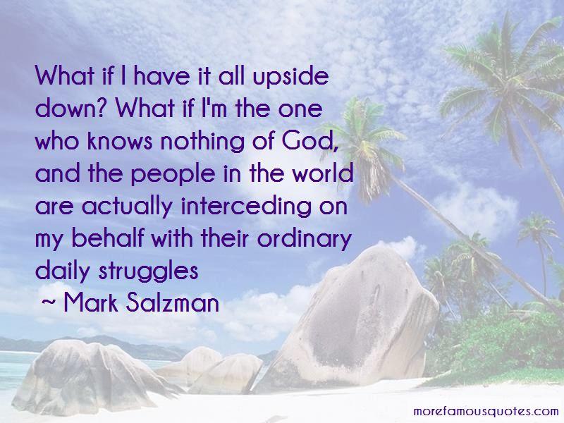 Mark Salzman Quotes