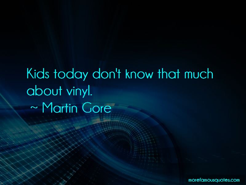 Martin Gore Quotes Pictures 2