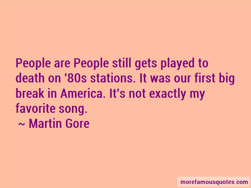 Martin Gore Quotes Pictures 4