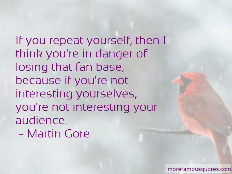 Martin Gore Quotes