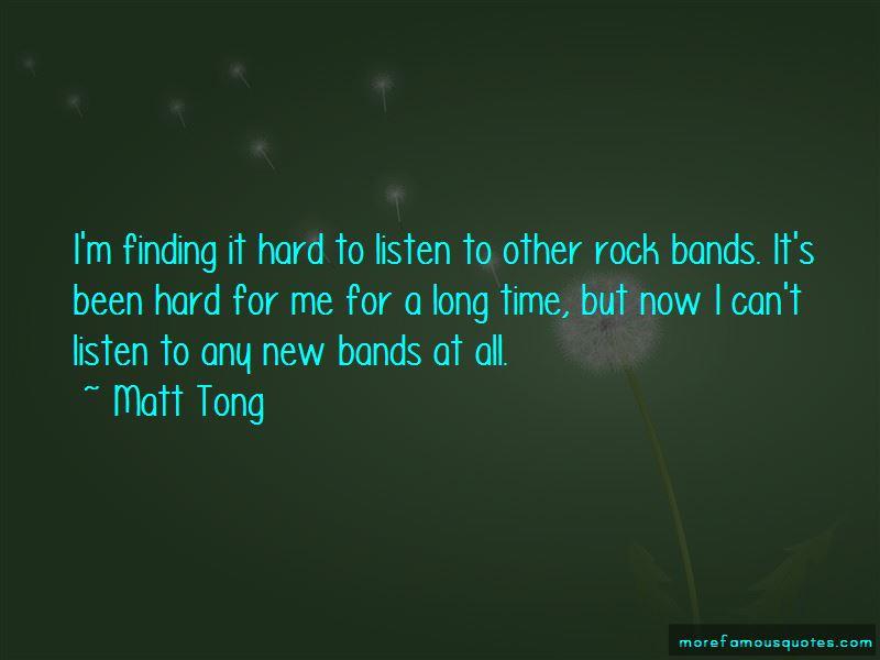 Matt Tong Quotes Pictures 2