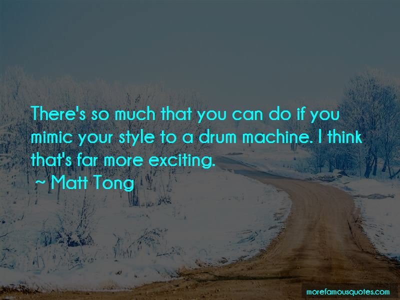 Matt Tong Quotes Pictures 4
