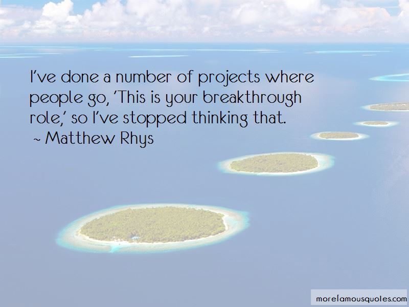 Matthew Rhys Quotes Pictures 2