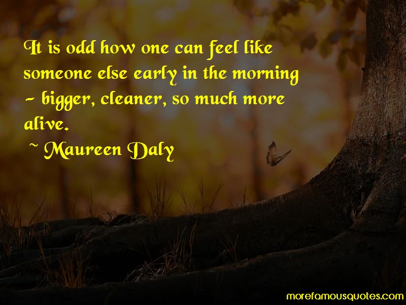 Maureen Daly Quotes