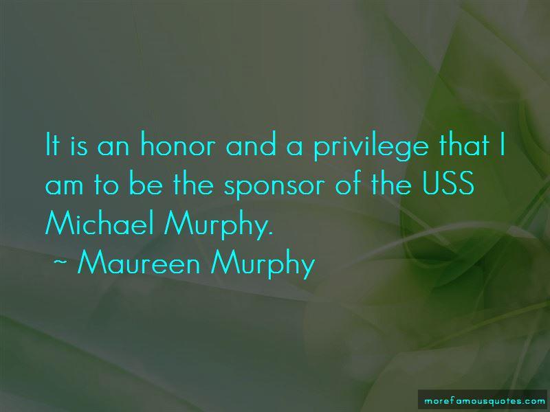 Maureen Murphy Quotes