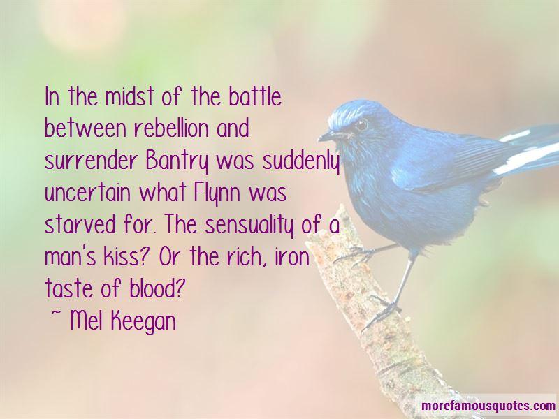 Mel Keegan Quotes