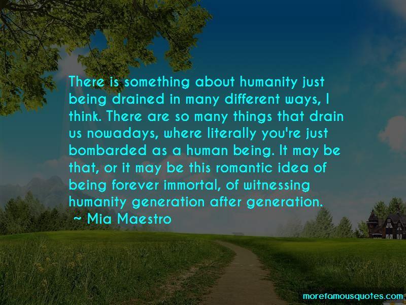 Mia Maestro Quotes Pictures 3