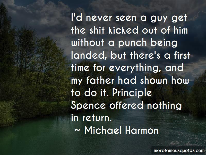 Michael Harmon Quotes Pictures 3