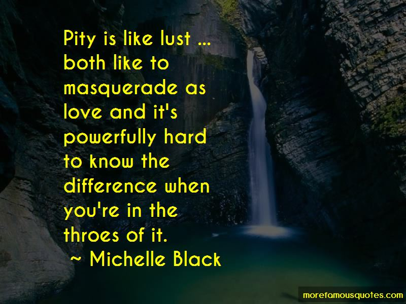 Michelle Black Quotes