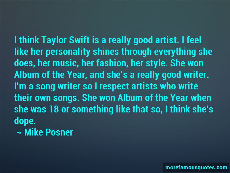 Mike Posner Quotes Pictures 2