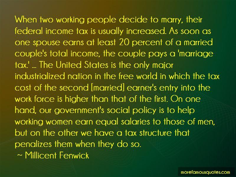 Millicent Fenwick Quotes Pictures 2