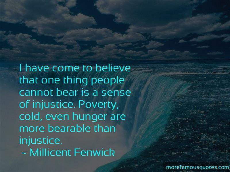 Millicent Fenwick Quotes
