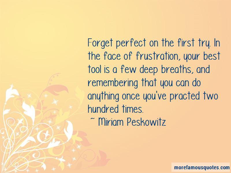 Miriam Peskowitz Quotes