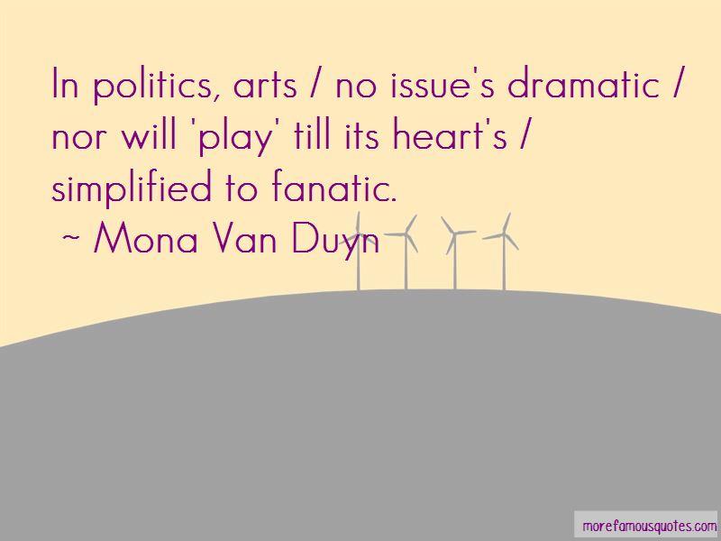 Mona Van Duyn Quotes