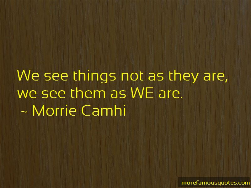 Morrie Camhi Quotes