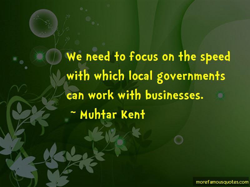 Muhtar Kent Quotes