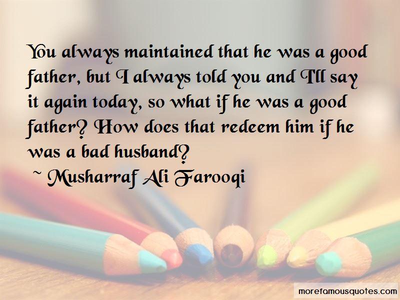 Musharraf Ali Farooqi Quotes Pictures 3