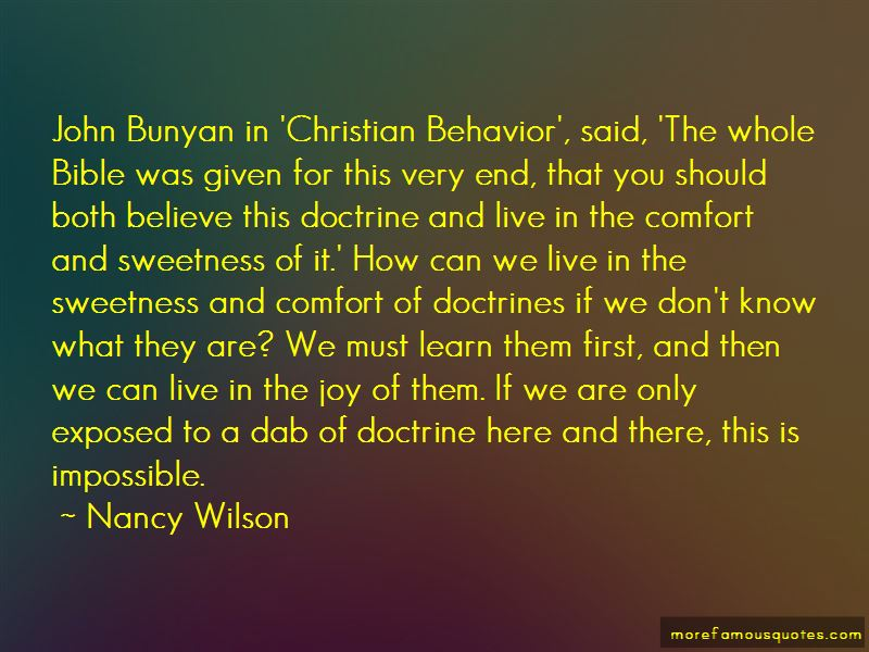 Nancy Wilson Quotes