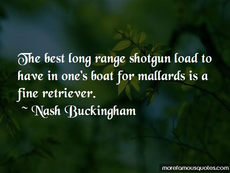 Nash Buckingham Quotes Pictures 3