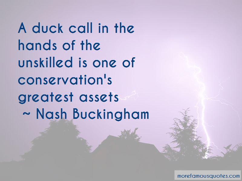 Nash Buckingham Quotes