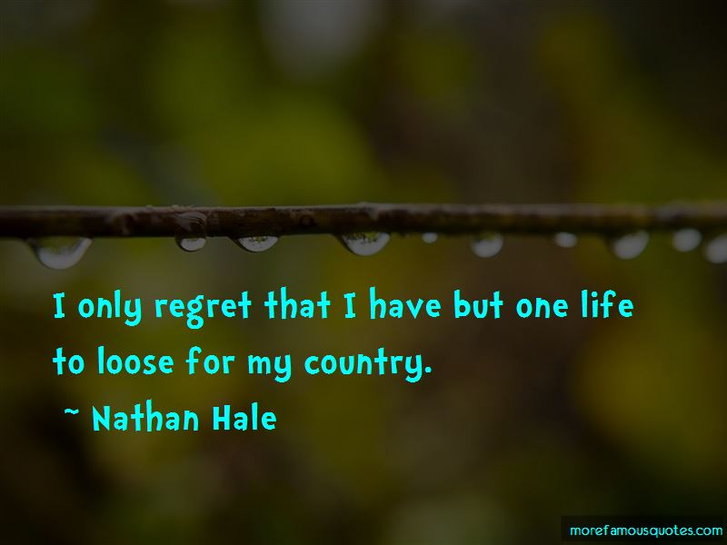 Nathan Hale Quotes Pictures 2