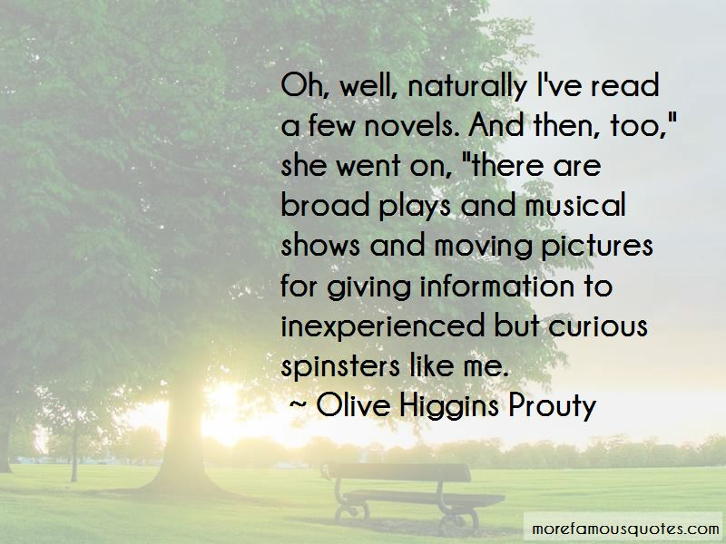 Olive Higgins Prouty Quotes Pictures 4