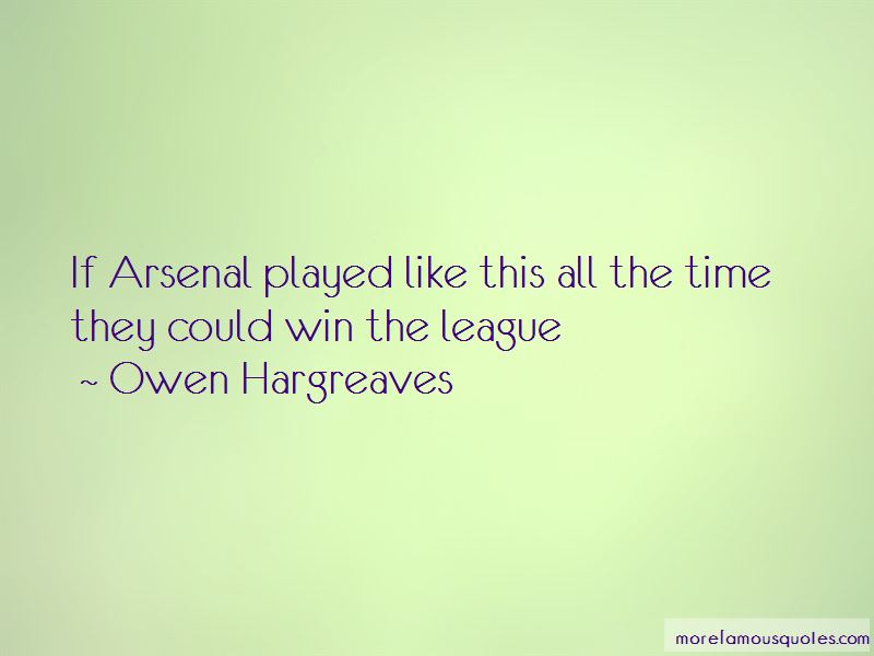 Owen Hargreaves Quotes