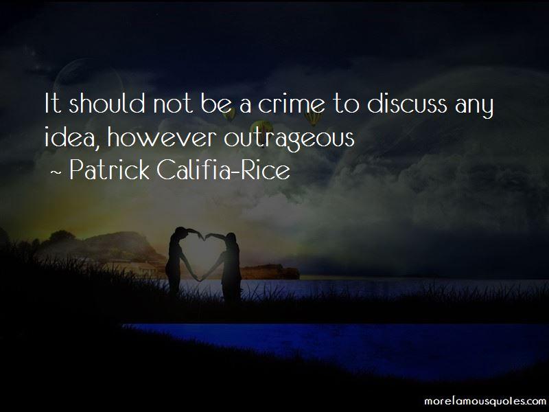 Patrick Califia-Rice Quotes Pictures 3