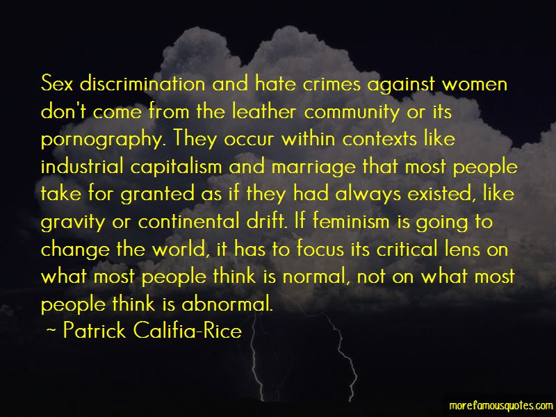 Patrick Califia-Rice Quotes
