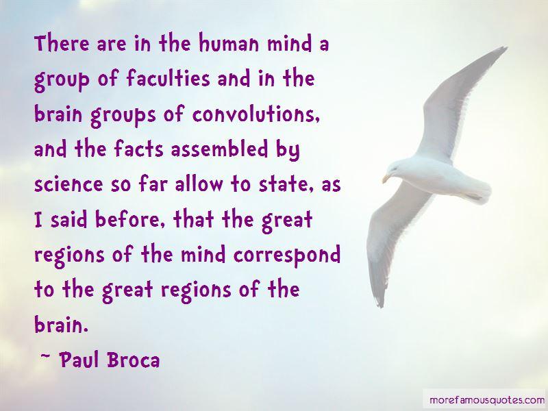Paul Broca Quotes