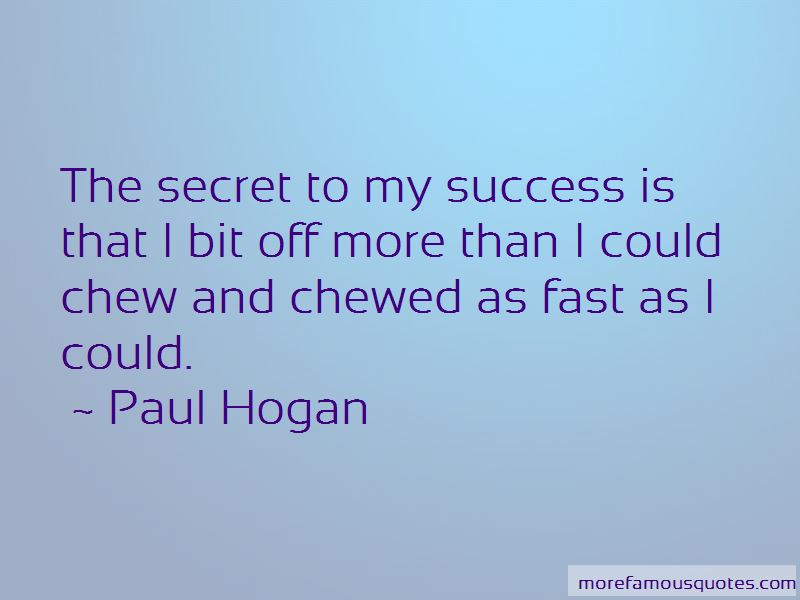 Paul Hogan Quotes Pictures 4
