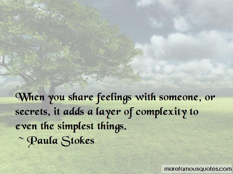 Paula Stokes Quotes