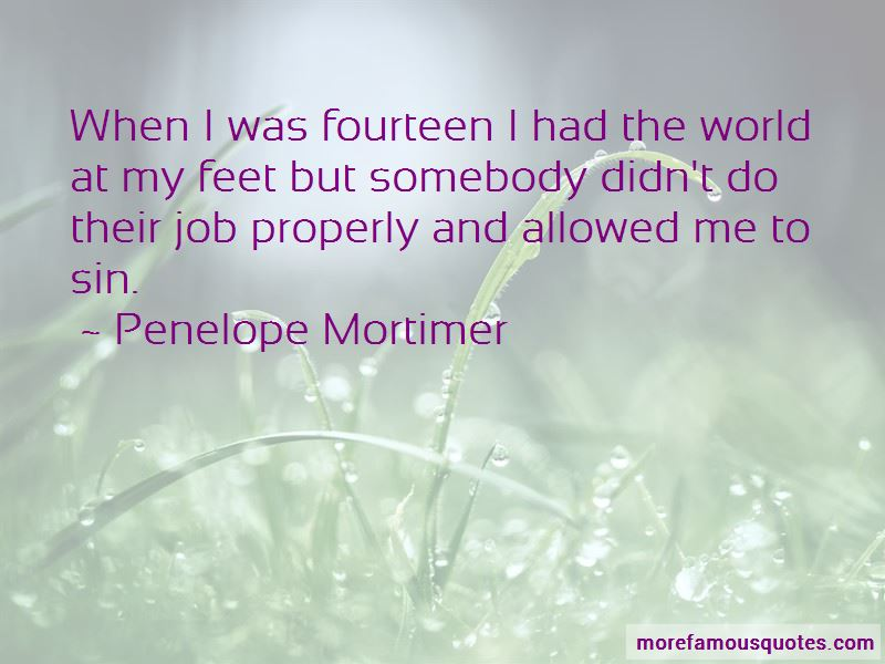 Penelope Mortimer Quotes Pictures 3